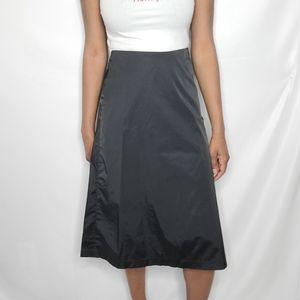 Banana Republic Vintage Black Midi Skirt